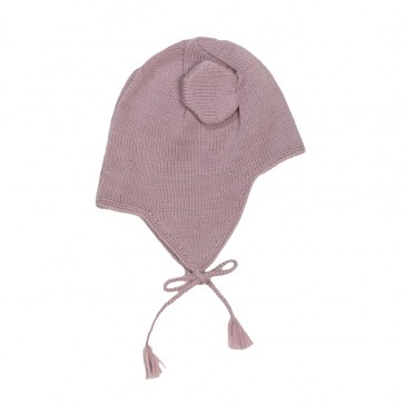 Memini Baby Bear Hat - Violet Fog