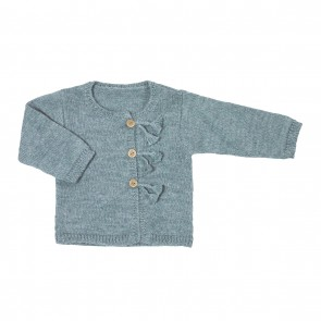 Memini Tale Cardigan - Dusty Blue