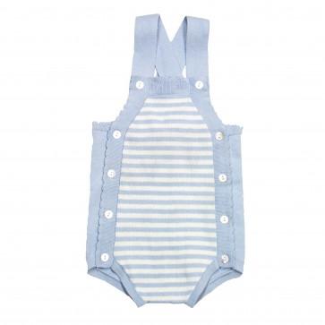 Memini River Romper - Baby Blue