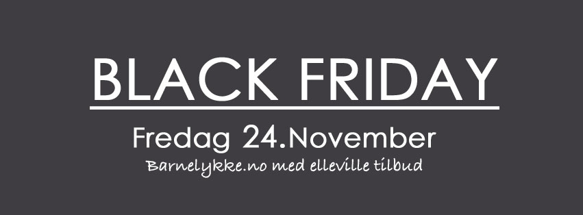 e963fd14 BlackFriday barneklær 2017